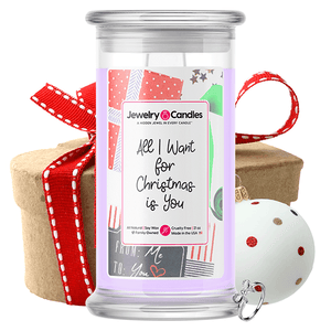 All I Want For Christmas Is You Jewelry Candle