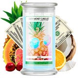 Aloha! Cash Money Candle