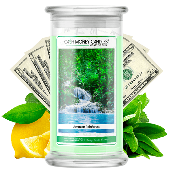 Amazon Rainforest Cash Money Candle