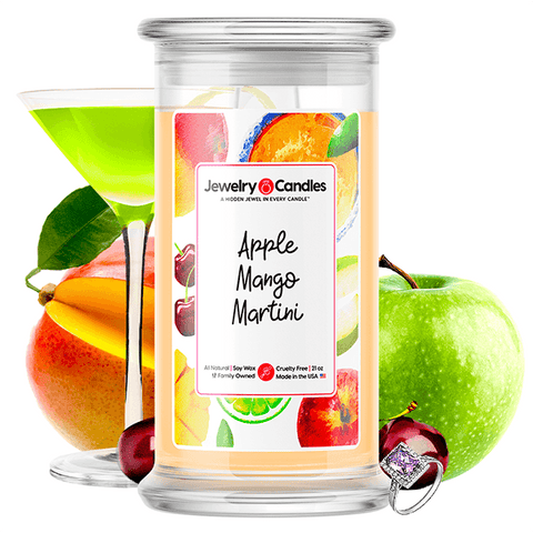 Apple Mango Martini Jewelry Candle