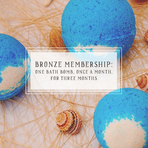 Bath Bomb Of The Month Club | Bronze Package | One Bath Bomb, Once A Month, For 3 Months-The Official Website of Jewelry Candles - Find Jewelry In Candles!