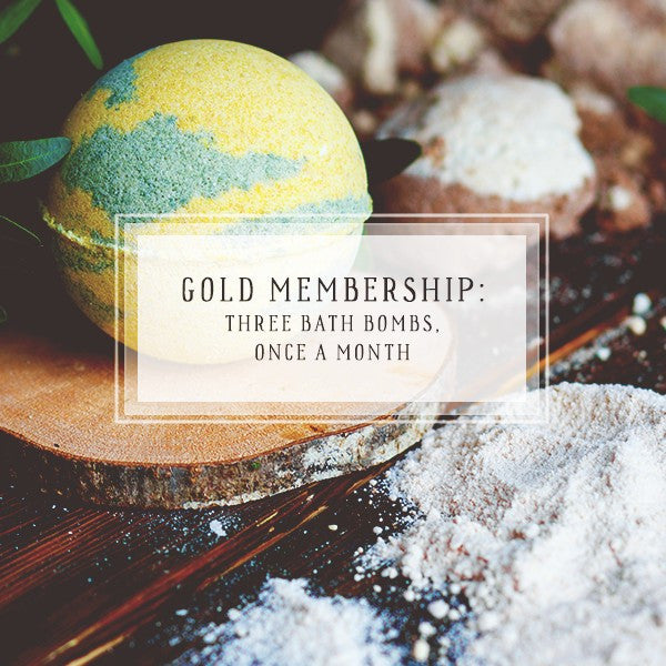 Bath Bomb Of The Month Club | Gold Package | Three Bath Bombs, Once Per Month-The Official Website of Jewelry Candles - Find Jewelry In Candles!