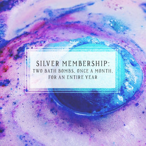 Bath Bomb Of The Month Club | Silver Package | Two Bath Bombs, Once A Month, For 12 Months-The Official Website of Jewelry Candles - Find Jewelry In Candles!