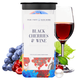 Black Cherries & Wine Pearl Party Bath Bombs Twin Pack