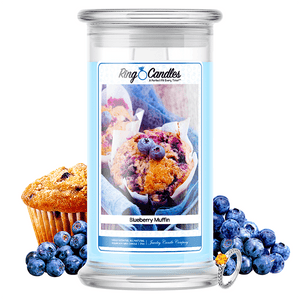 Blueberry Muffin Ring Candle