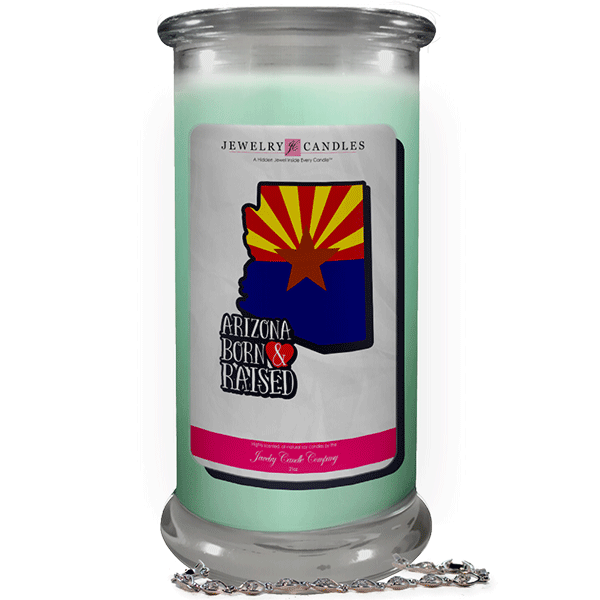 Arizona | Born & Raised Candles-Born & Raised Candles®-The Official Website of Jewelry Candles - Find Jewelry In Candles!