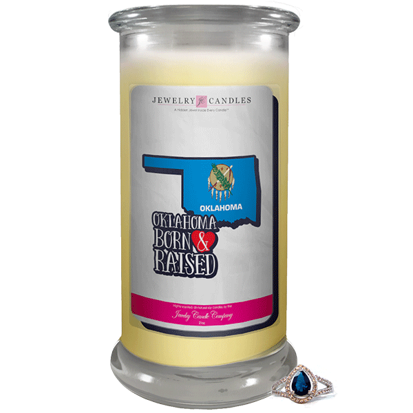 Oklahoma | Born & Raised Candles-Born & Raised Candles®-The Official Website of Jewelry Candles - Find Jewelry In Candles!