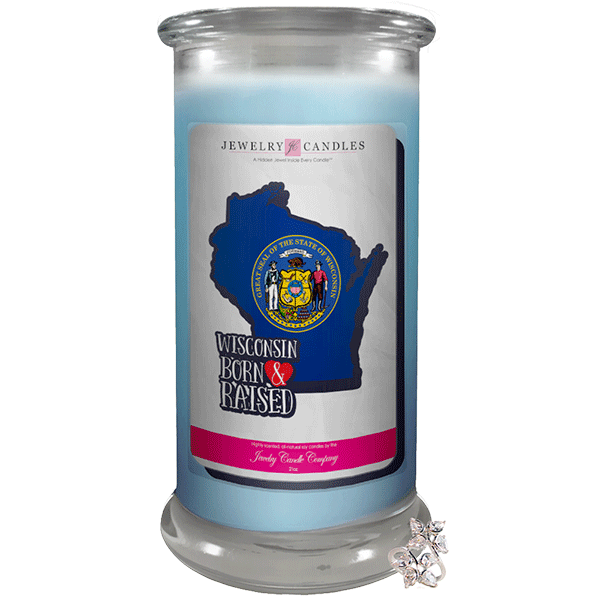 Wisconsin | Born & Raised Candles-Born & Raised Candles®-The Official Website of Jewelry Candles - Find Jewelry In Candles!