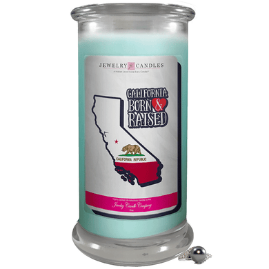 California | Born & Raised Candles-The Official Website of Jewelry Candles - Find Jewelry In Candles!