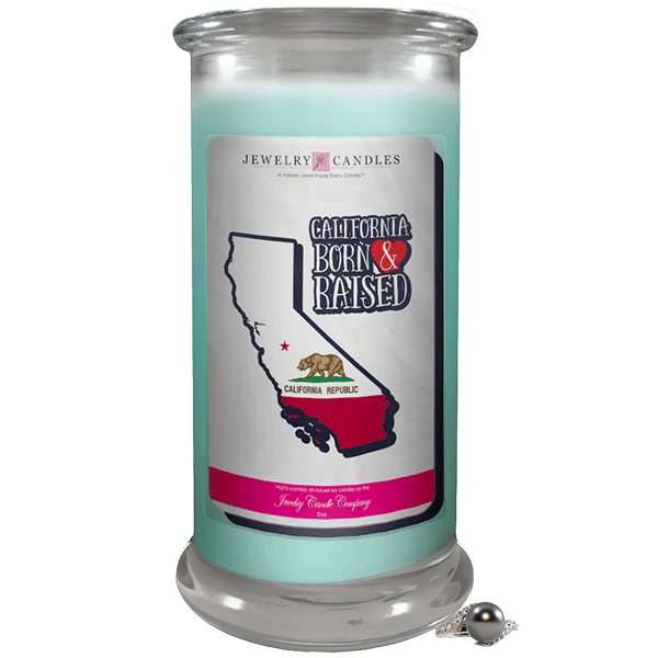 California | Born & Raised Candles-Born & Raised Candles®-The Official Website of Jewelry Candles - Find Jewelry In Candles!