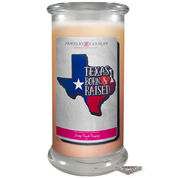 Texas | Born & Raised Candles-Born & Raised Candles®-The Official Website of Jewelry Candles - Find Jewelry In Candles!