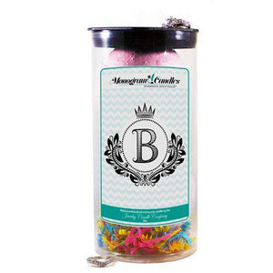 Letter B | Monogram Bath Bombs-Jewelry Bath Bombs-The Official Website of Jewelry Candles - Find Jewelry In Candles!