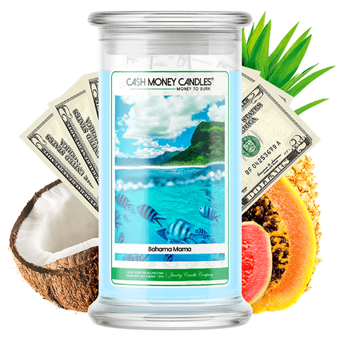 Bahama Mama Cash Money Candle