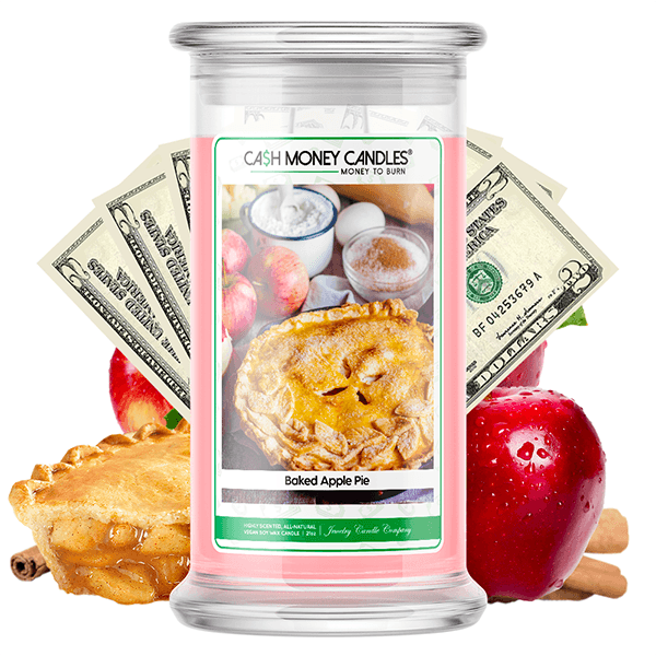 Baked Apple Pie Cash Money Candle