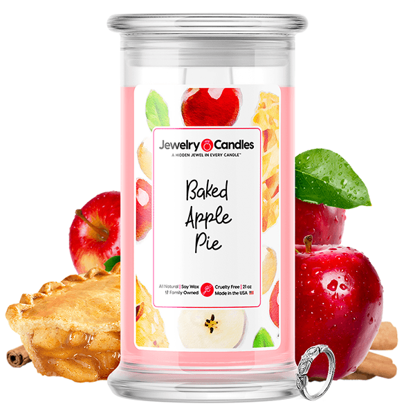 Baked Apple Pie Jewelry Candles