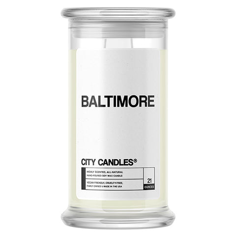 Baltimore City Candle