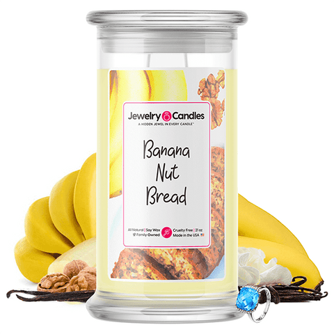 Banana Nut Bread Jewelry Candle