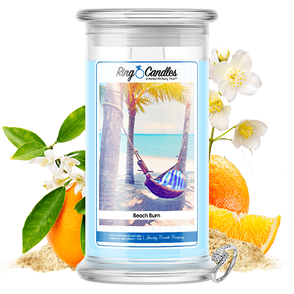 Beach Bum Ring Candle