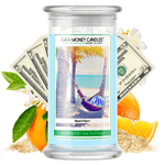 Beach Bum Cash Money Candle