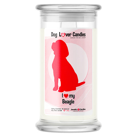 Beagle Dog Lover Candle