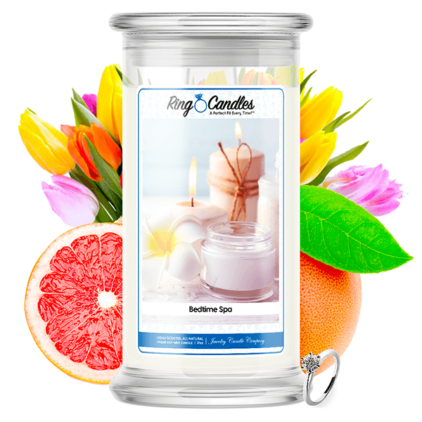 Bedtime Spa Ring Candle