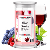 Black Cherries & Wine Jewelry Candle