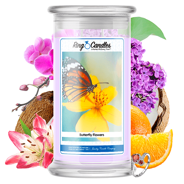 Butterfly Kisses | Ring Candle®