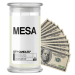 Mesa | City Cash Candle®-City Cash Candles®-The Official Website of Jewelry Candles - Find Jewelry In Candles!