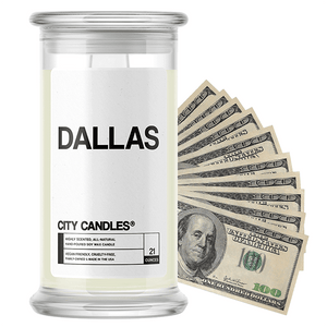 Dallas | City Cash Candle®-City Cash Candles®-The Official Website of Jewelry Candles - Find Jewelry In Candles!
