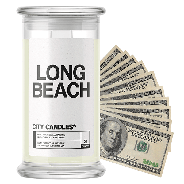 Long Beach | City Cash Candle®-City Cash Candles®-The Official Website of Jewelry Candles - Find Jewelry In Candles!