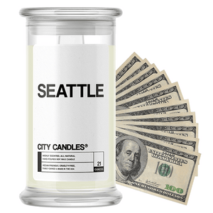 Seattle | City Cash Candle®-City Cash Candles®-The Official Website of Jewelry Candles - Find Jewelry In Candles!