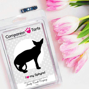 I Love My Sphynx! - Companion Tarts-Companion Tarts-The Official Website of Jewelry Candles - Find Jewelry In Candles!