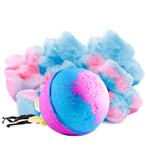 Cotton Candy Dandy | Single Toy Surprise Bath Bomb®-Single Toy Bath Bomb-The Official Website of Jewelry Candles - Find Jewelry In Candles!