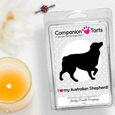 I Love My Australian Shepherd! - Companion Tarts-Companion Tarts-The Official Website of Jewelry Candles - Find Jewelry In Candles!