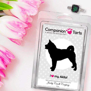 I Love My Akita! - Companion Tarts-Companion Tarts-The Official Website of Jewelry Candles - Find Jewelry In Candles!