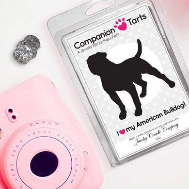 I Love My American Bulldog! - Companion Tarts-Companion Tarts-The Official Website of Jewelry Candles - Find Jewelry In Candles!