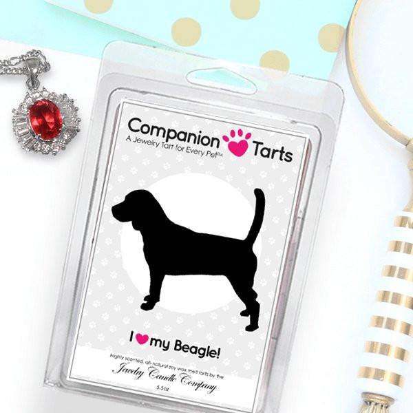 I Love My Beagle! - Companion Tarts-Companion Tarts-The Official Website of Jewelry Candles - Find Jewelry In Candles!