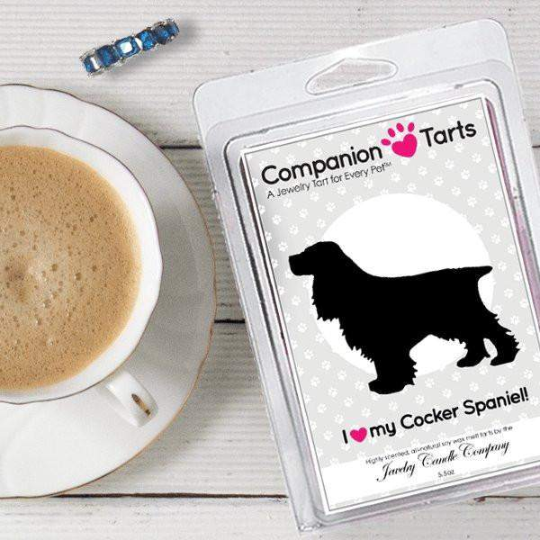 I Love My Cocker Spaniel! - Companion Tarts-Companion Tarts-The Official Website of Jewelry Candles - Find Jewelry In Candles!