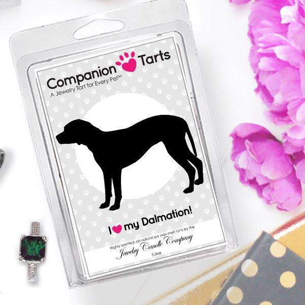 I Love My Dalmation! - Companion Tarts-Companion Tarts-The Official Website of Jewelry Candles - Find Jewelry In Candles!