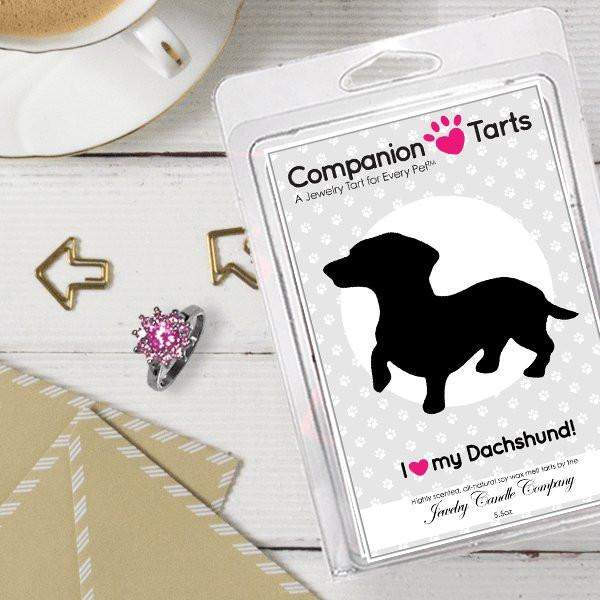 I Love My Daschund! - Companion Tarts-Companion Tarts-The Official Website of Jewelry Candles - Find Jewelry In Candles!