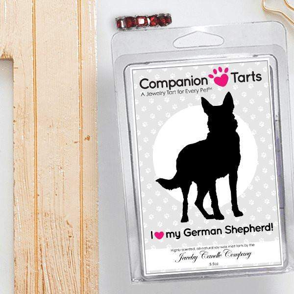 I Love My German Shepherd! - Companion Tarts-Companion Tarts-The Official Website of Jewelry Candles - Find Jewelry In Candles!