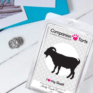 I Love My Goat! - Companion Tarts-Companion Tarts-The Official Website of Jewelry Candles - Find Jewelry In Candles!