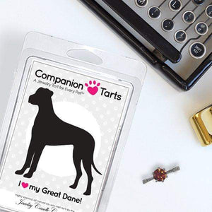 I Love My Great Dane! - Companion Tarts-Companion Tarts-The Official Website of Jewelry Candles - Find Jewelry In Candles!