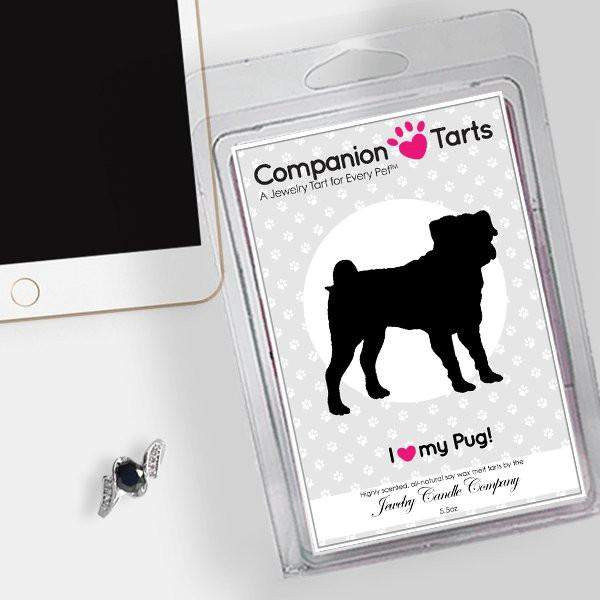 I Love My Pug! - Companion Tarts-Companion Tarts-The Official Website of Jewelry Candles - Find Jewelry In Candles!