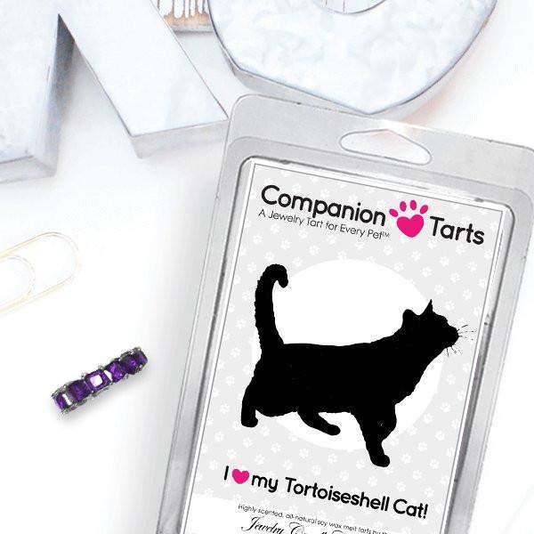I Love My Tortoiseshell Cat! - Companion Tarts-Companion Tarts-The Official Website of Jewelry Candles - Find Jewelry In Candles!