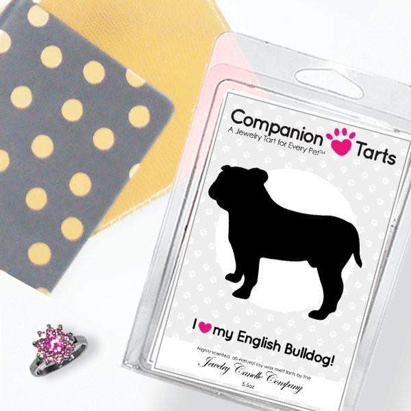 I Love My English Bulldog! - Companion Tarts-Companion Tarts-The Official Website of Jewelry Candles - Find Jewelry In Candles!