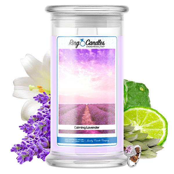 Calming Lavender Ring Candle
