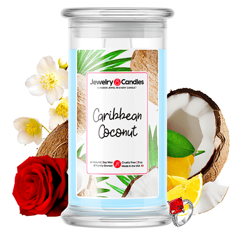 Caribbean Coconut Jewelry Candle