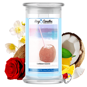 Caribbean Coconut Ring Candle