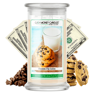 Chocolate Chip Cookies Cash Money Candle